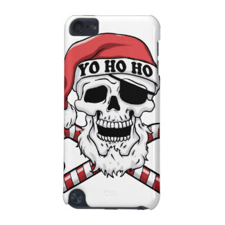 Capa Para iPod Touch 5G Yo ho ho - papai noel do pirata - Papai Noel