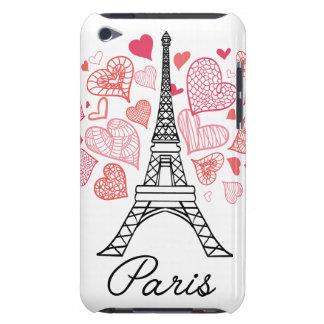 Capa Para iPod Touch Amor de Paris, France