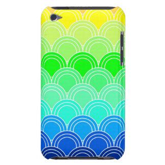 Capa Para iPod Touch Art deco, nouveau da arte, vintage, escudo, fã,