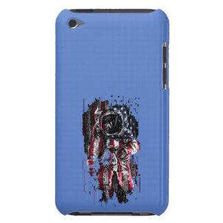 Capa Para iPod Touch Astronauta e bandeira americana