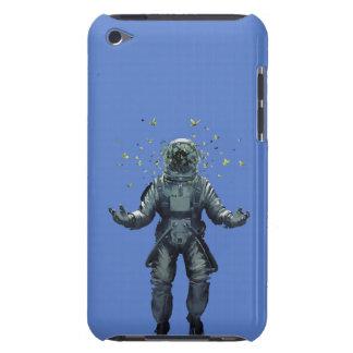 Capa Para iPod Touch Astronauta e borboleta