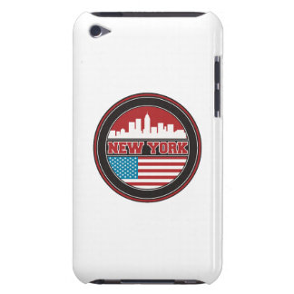 Capa Para iPod Touch Bandeira dos Estados Unidos da skyline | de New