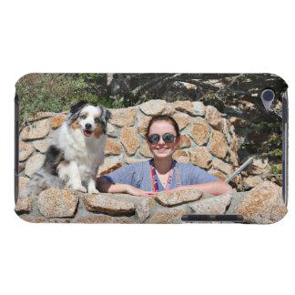 Capa Para iPod Touch Bennett - mini australiano - Rosie - praia de