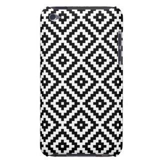 Capa Para iPod Touch Bloco asteca Ptn do símbolo preto & branco mim