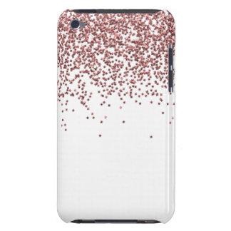 Capa Para iPod Touch Brilho cor-de-rosa chamativo do ouro