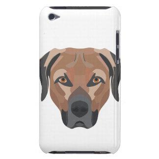 Capa Para iPod Touch Cão Brown Labrador da ilustração