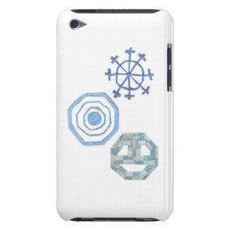 Capa Para iPod Touch Caso do toque de IPod da geração do floco de neve