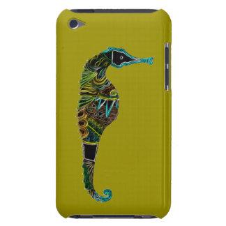 Capa Para iPod Touch Cavalo marinho de néon