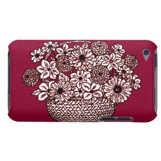 Capa Para iPod Touch Cesta das flores