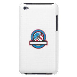Capa Para iPod Touch Círculo da bandeira dos EUA da chave de tubulação
