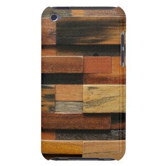 Capa Para iPod Touch Colagem de madeira Textured multicolorido