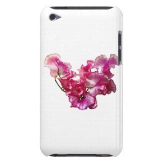 Capa Para iPod Touch Coração cor-de-rosa da ervilha doce