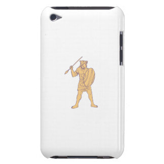 Capa Para iPod Touch Desenho africano da lança da máscara do lobo do