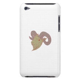 Capa Para iPod Touch Desenho da cabeça da ram da cabra de montanha