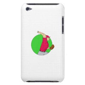 Capa Para iPod Touch Desenho de jogo do círculo da bola do jarro do