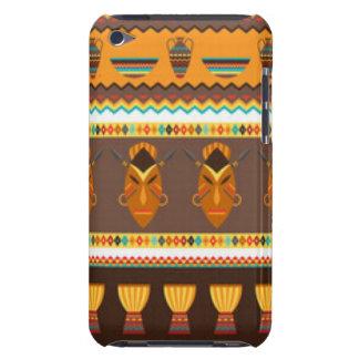 Capa Para iPod Touch Design africano do impressão do teste padrão do
