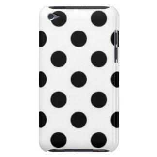 Capa Para iPod Touch Design branco preto do impressão do teste padrão