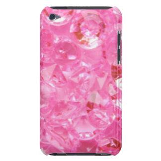 Capa Para iPod Touch Diamantes cor-de-rosa