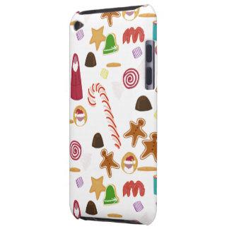 Capa Para iPod Touch Doces dos docinhos do Natal, bastão de doces dos