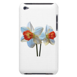 Capa Para iPod Touch Dois brancos e Daffodils alaranjados