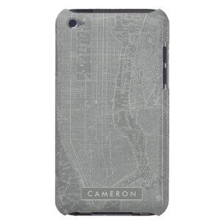Capa Para iPod Touch Esboço do mapa da Nova Iorque