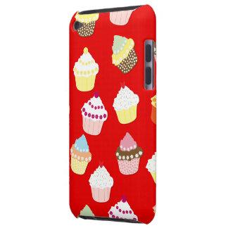 Capa Para iPod Touch Escuro - bolos vermelhos do copo dos namorados