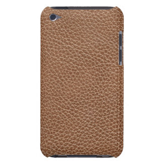 Capa Para iPod Touch Falso Brown natural de couro