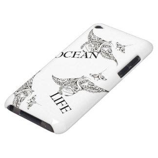 Capa Para iPod Touch família da vida do oceano dos manta-raios