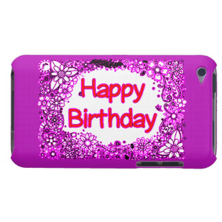 Capa Para iPod Touch Feliz aniversario