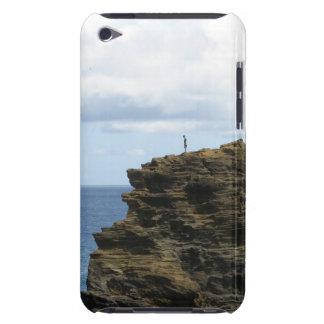 Capa Para iPod Touch Figura solitário em um penhasco