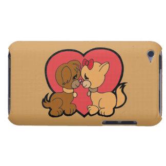 Capa Para iPod Touch Filhotes de cachorro no amor