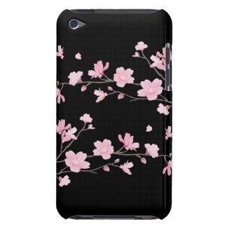 Capa Para iPod Touch Flor de cerejeira - preto