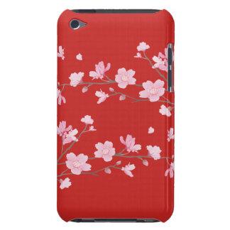 Capa Para iPod Touch Flor de cerejeira - vermelho