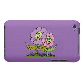Capa Para iPod Touch Flores do smiley