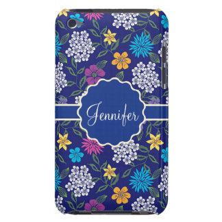 Capa Para iPod Touch Flores selvagens femininos do primavera e do