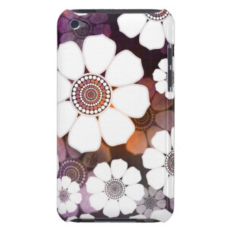 Capa Para iPod Touch Flower power roxo Funky