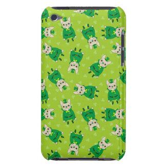Capa Para iPod Touch Frenchie bonito afortunado no dia de St Patrick