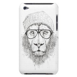 Capa Para iPod Touch Leão legal (preto e branco)