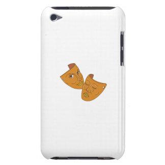 Capa Para iPod Touch Linha da comédia e da tragédia da máscara do