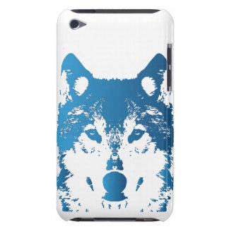 Capa Para iPod Touch Lobo do azul de gelo da ilustração