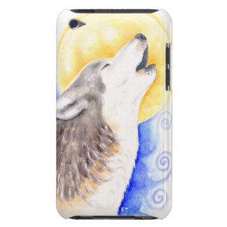 Capa Para iPod Touch Lobo do urro