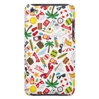 Capa Para iPod Touch Mar sul do viagem das férias de verão do teste