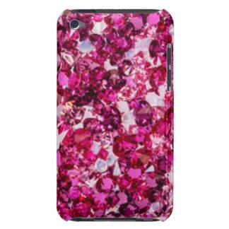 Capa Para iPod Touch Multi diamantes do rosa da cor