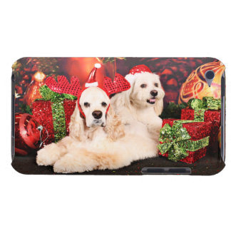 Capa Para iPod Touch Natal - Cocker - Toby, Havanese - pouco T