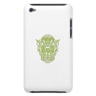 Capa Para iPod Touch Nó do céltico da brasão da árvore do leão dos