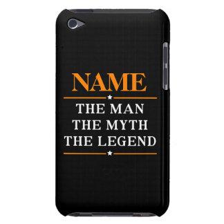 Capa Para iPod Touch Nome personalizado o homem o mito a legenda