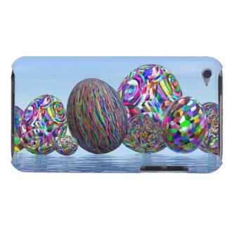Capa Para iPod Touch Ovos coloridos para a páscoa - 3D rendem