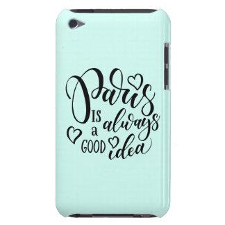 Capa Para iPod Touch Paris é sempre um bom roteiro da ideia