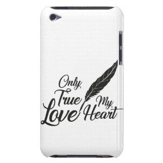 Capa Para iPod Touch Pena verdadeira do amor da ilustração