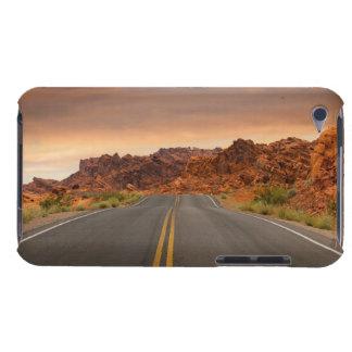 Capa Para iPod Touch Por do sol da viagem por estrada